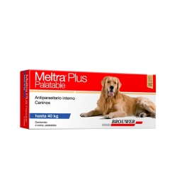MELTRA PLUS PALATABLE HASTA 40 KG X 4 COMP BROUWE