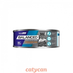 VITALCAN BALANCED GATO ORANGE MIX 85 GRS LATA WET