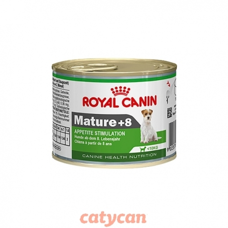 ROYAL CANIN MINI MATURE 8+ HÚMEDO X 195 GR