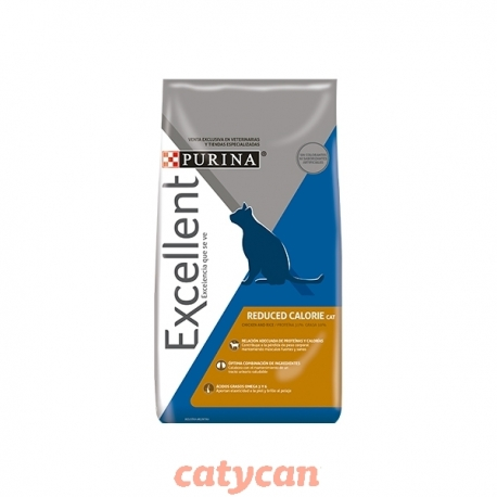 EXCELLENT GATO ADULTO REDUCED CALORIE X 1 KG