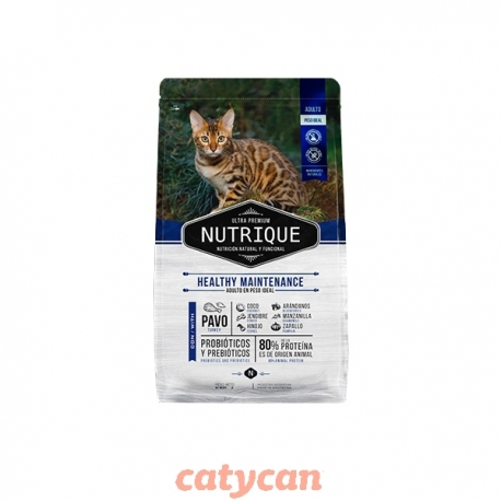 NUTRIQUE GATO ADULTO JOVEN HEALTHY MAINT X 2 KG