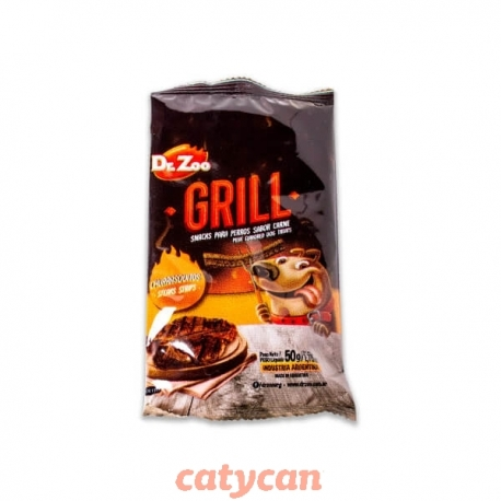 DR. ZOO FLOWPACK GRILL CHURRASQUITOS X 50 GR