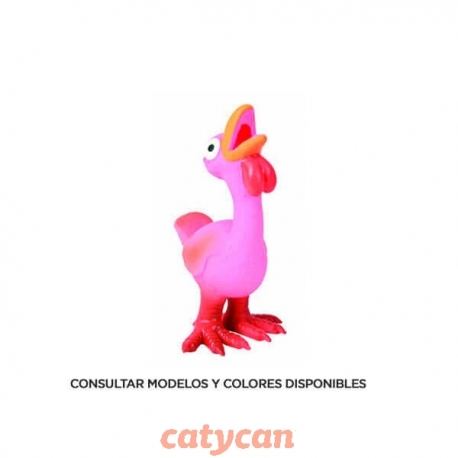 GALLINA DE LATEX 14CM