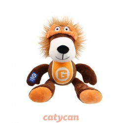 GIGWY AGENT LION PLUSH/TENNIS BALL SQUEAKER
