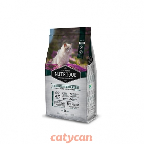 NUTRIQUE YOUNG GATO ADULTO STERI / H WEIGTH X 350 GRS