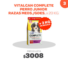Vitalcan complete junior 20+3